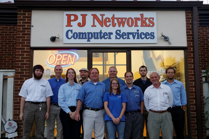 PJ Networks Charlottesville Virginia Company Picture